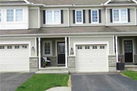 Townhouse for sale at 378 Wisteria Cres Ottawa Ontario - MLS: 1152179