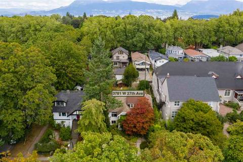 House for sale at 3781 27th Ave W Vancouver British Columbia - MLS: R2398600