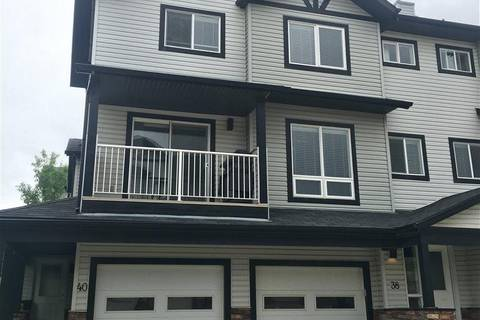 Townhouse for sale at 11 Clover Bar Ln Unit 38 Sherwood Park Alberta - MLS: E4148210