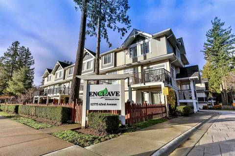 Townhouse for sale at 12775 63 Ave Unit 38 Surrey British Columbia - MLS: R2427385
