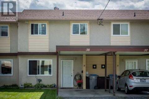 Townhouse for sale at 1697 Greenfield Ave  Unit 38 Kamloops British Columbia - MLS: 157924