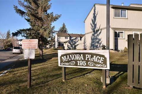 Townhouse for sale at 195 Manora Pl Northeast Unit 38 Calgary Alberta - MLS: C4275858