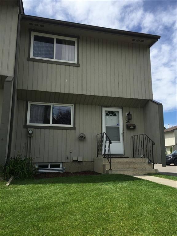 Townhouse for sale at 195 Manora Pl Ne Unit 38 Marlborough Park, Calgary Alberta - MLS: C4213636
