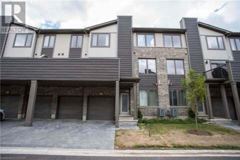 Townhouse for sale at 1960 Dalmagarry Rd Unit 38 London Ontario - MLS: 278206