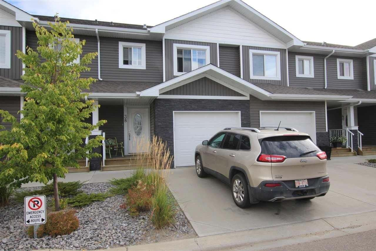Townhouse for sale at 500 Grove Dr Unit 38 Spruce Grove Alberta - MLS: E4216046