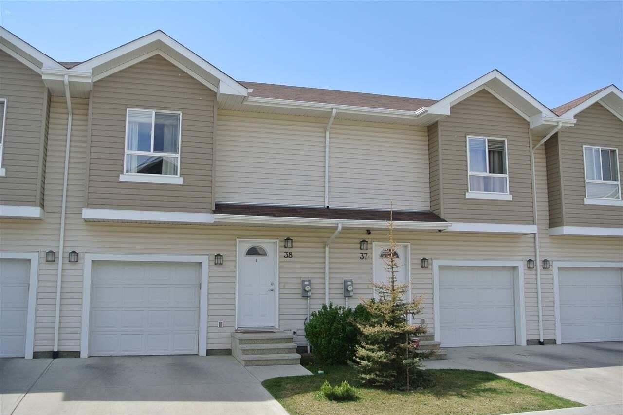 Townhouse for sale at 5120 164 Av NW Unit 38 Edmonton Alberta - MLS: E4212777