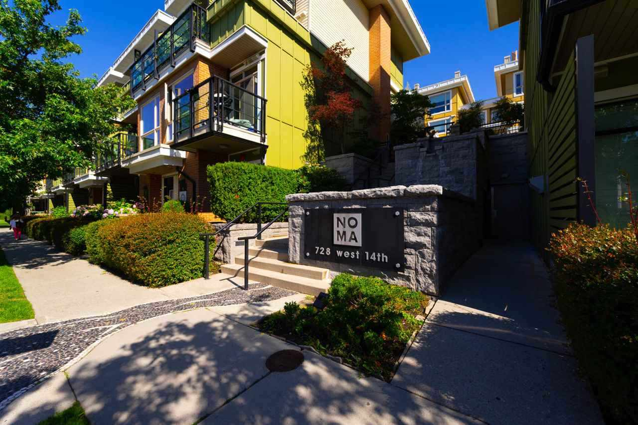 Sold: 38 - 728 West 14th Street, North Vancouver, BC