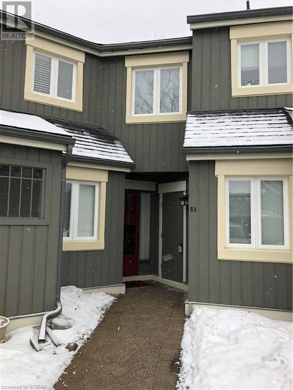 Townhouse for rent at 83 Dawson Dr Unit 38 Collingwood Ontario - MLS: 236303