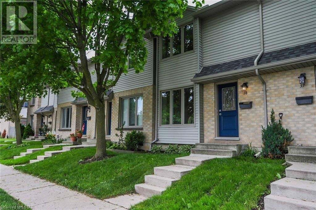 Townhouse for sale at 925 Lawson Rd Unit 38 London Ontario - MLS: 263405