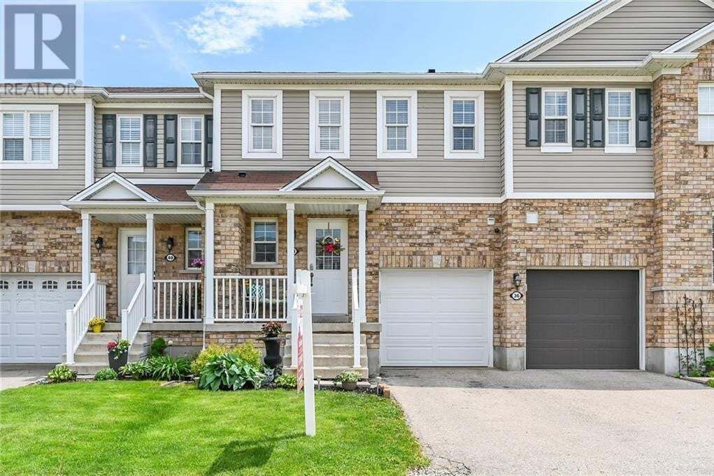 Townhouse for sale at 38 Bloomington Dr Cambridge Ontario - MLS: 30808566
