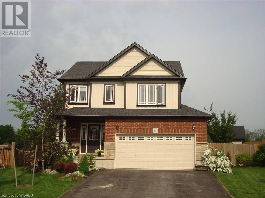 House for sale at 38 Bushell Ct Norwich Ontario - MLS: 200593