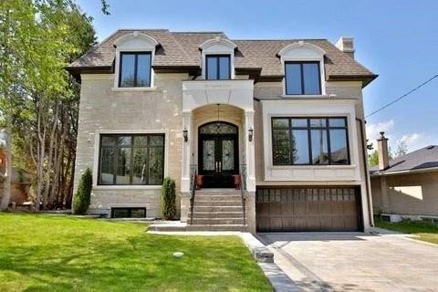 House for sale at 38 Caswell Dr Toronto Ontario - MLS: C4663725
