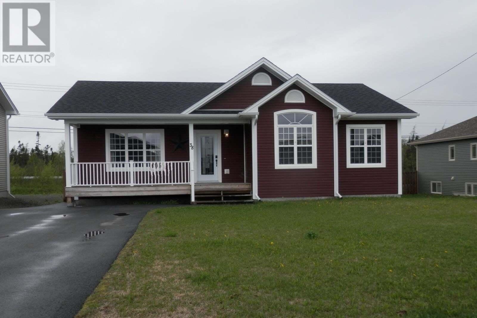 House for sale at 38 Cochran St Gander Newfoundland - MLS: 1213515