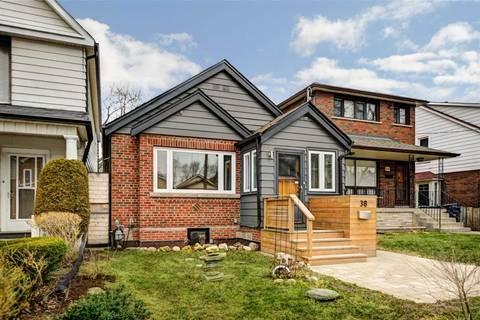 House for sale at 38 Coleridge Ave Toronto Ontario - MLS: E4733003