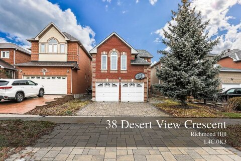 House for sale at 38 Desert View Cres Richmond Hill Ontario - MLS: N5079917