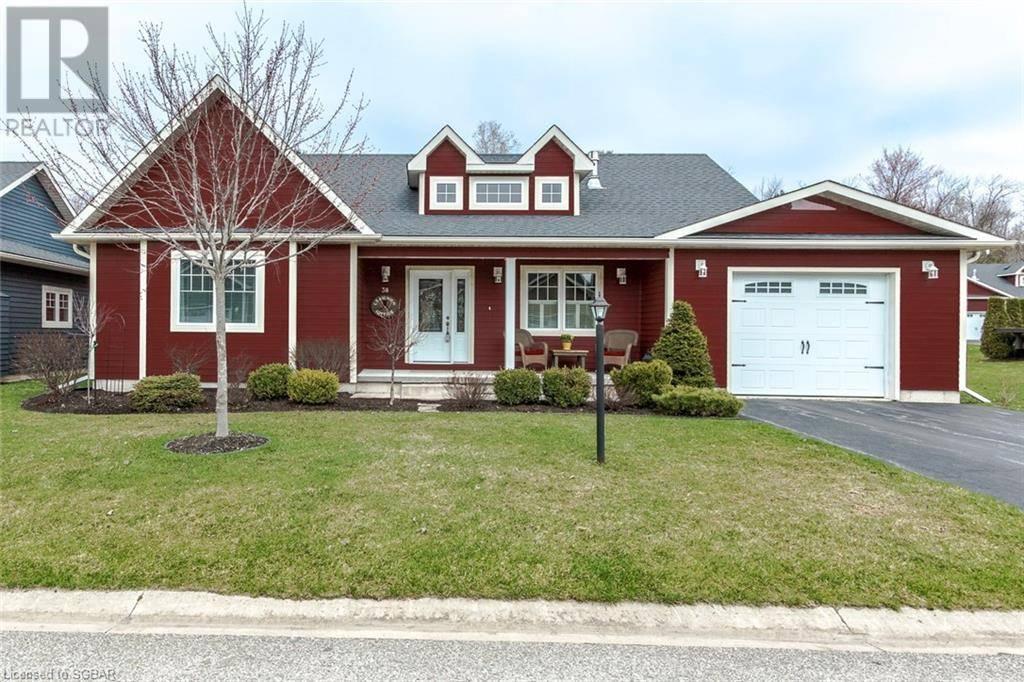 House for sale at 38 Grew Cres Penetanguishene Ontario - MLS: 212398