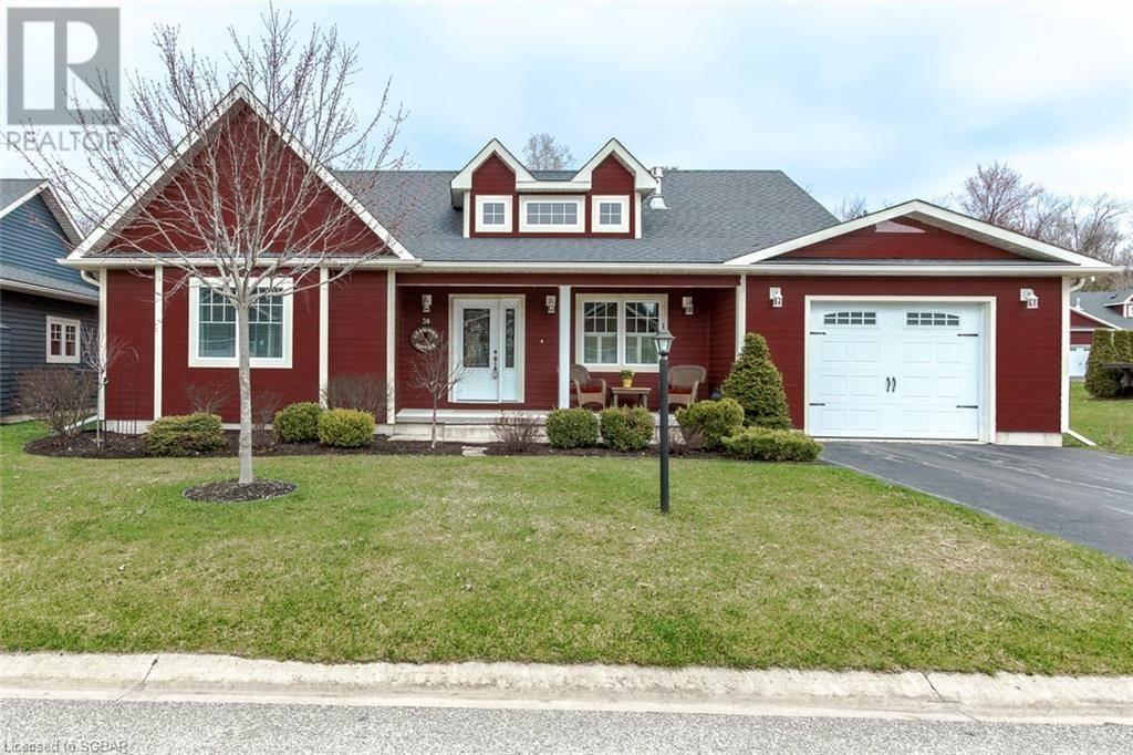House for sale at 38 Grew Cres Penetanguishene Ontario - MLS: 235084