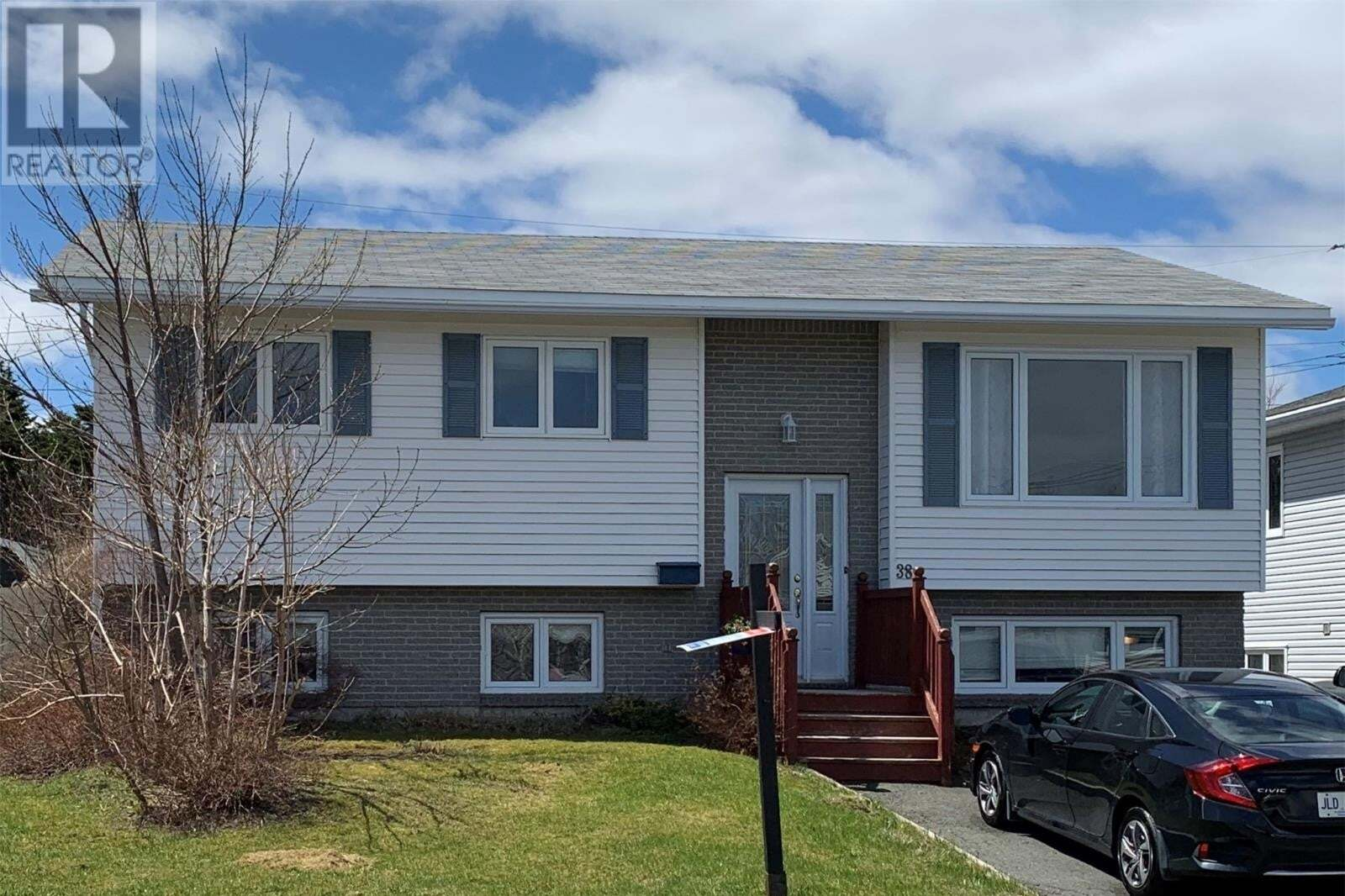 House for sale at 38 Nelder Dr Mount Pearl Newfoundland - MLS: 1212244