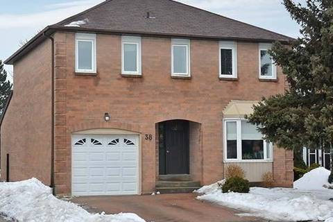 House for sale at 38 Nuttall St Brampton Ontario - MLS: W4372544