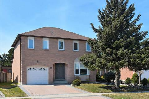 House for sale at 38 Nuttall St Brampton Ontario - MLS: W4400303