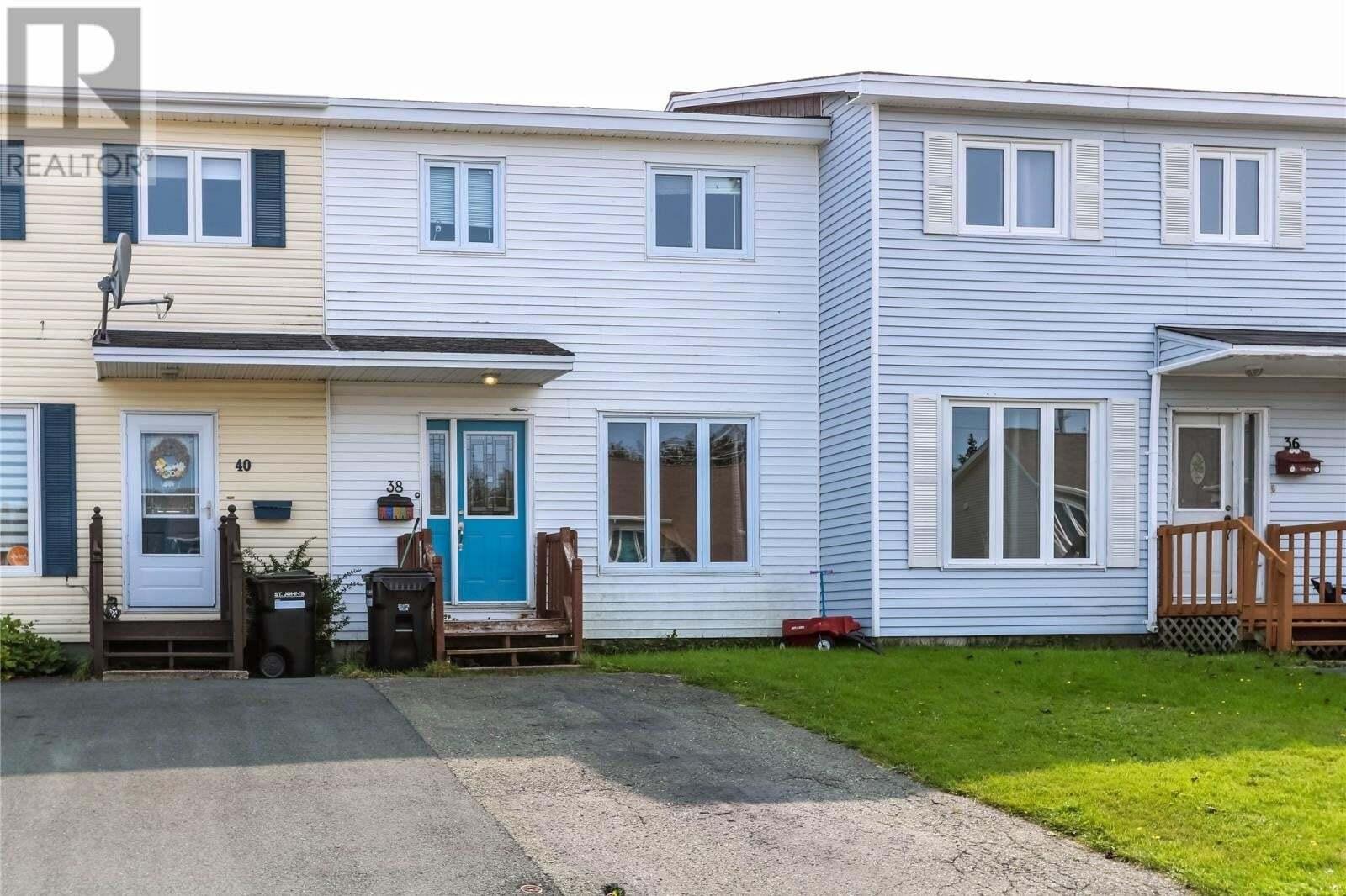 House for sale at 38 Prospero Pl St. John's Newfoundland - MLS: 1221471