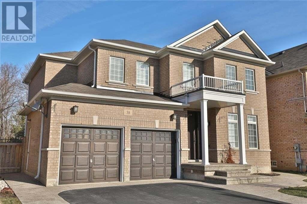 House for sale at 38 Prudham Cres Waterdown Ontario - MLS: 30797503