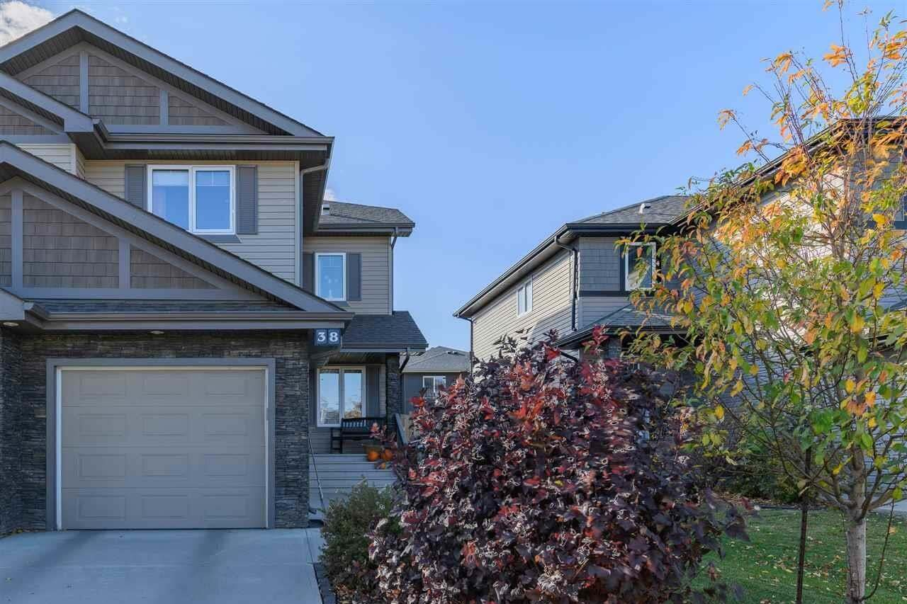Townhouse for sale at 38 Red Tail Wy St. Albert Alberta - MLS: E4217282