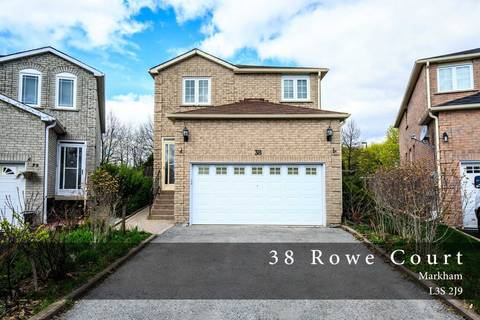 Home for sale at 38 Rowe Ct Markham Ontario - MLS: N4447335
