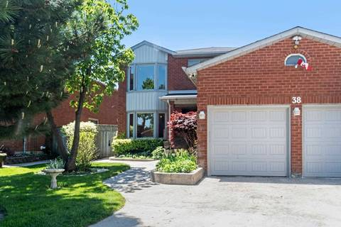 House for sale at 38 Settler Ct Brampton Ontario - MLS: W4475843