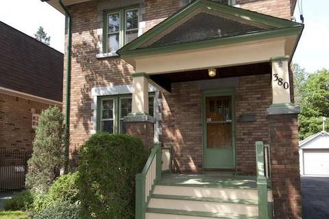 House for rent at 380 Riverdale Ave Ottawa Ontario - MLS: 1155012