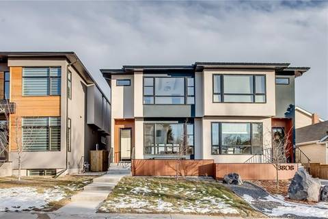 Townhouse for sale at 3806 Parkhill St Southwest Calgary Alberta - MLS: C4221669