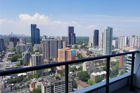 Apartment for rent at 85 Wood St Unit 3807 Toronto Ontario - MLS: C4523816