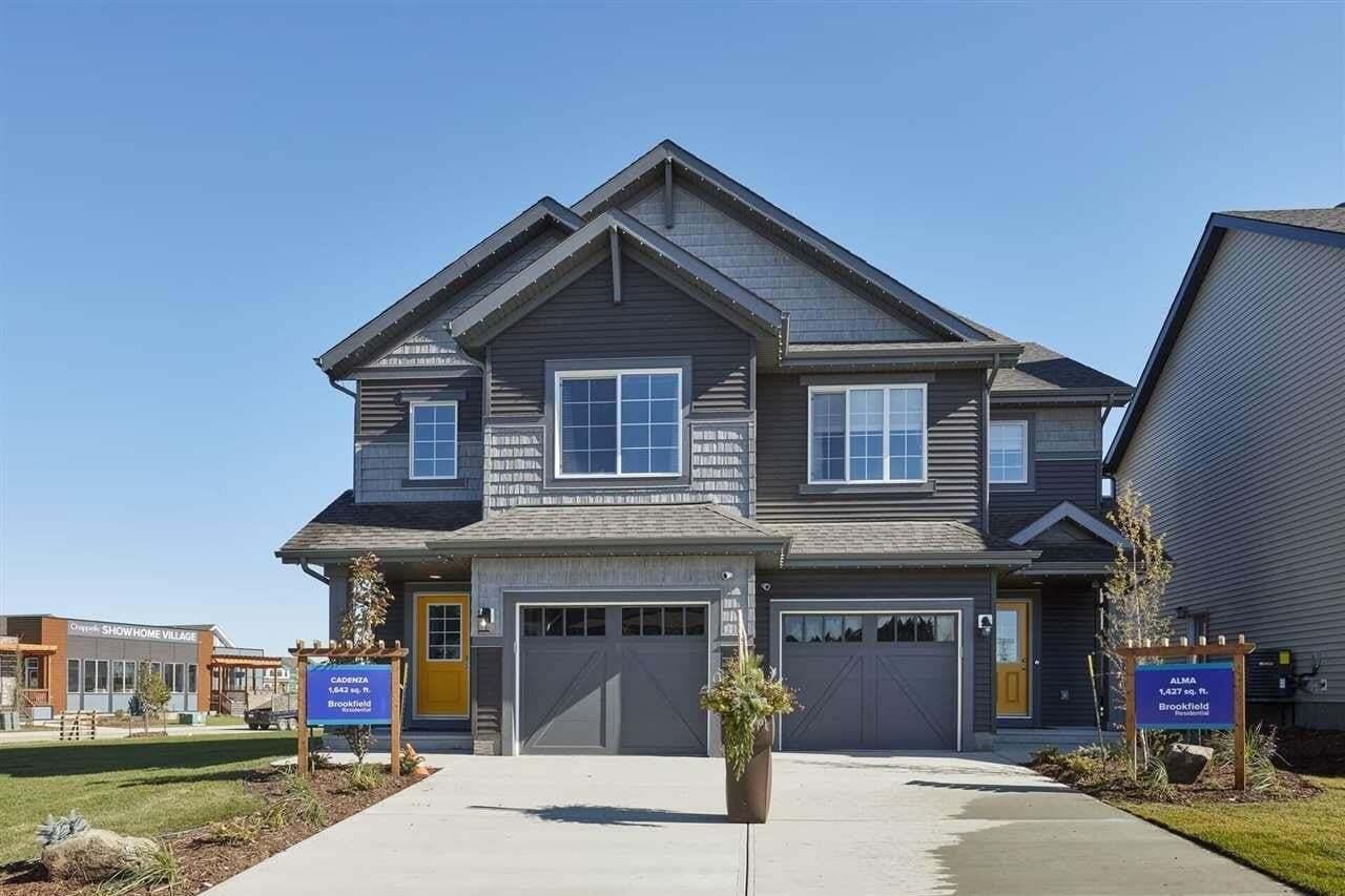 Townhouse for sale at 3807 Chrustawka Pl SW Edmonton Alberta - MLS: E4199058