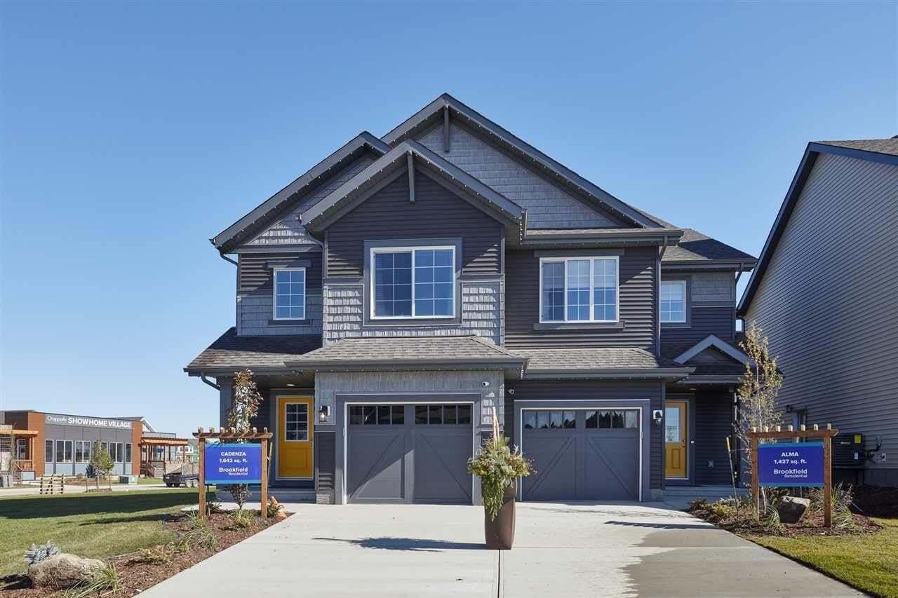 Townhouse for sale at 3809 Chrustawka Pl SW Edmonton Alberta - MLS: E4184808
