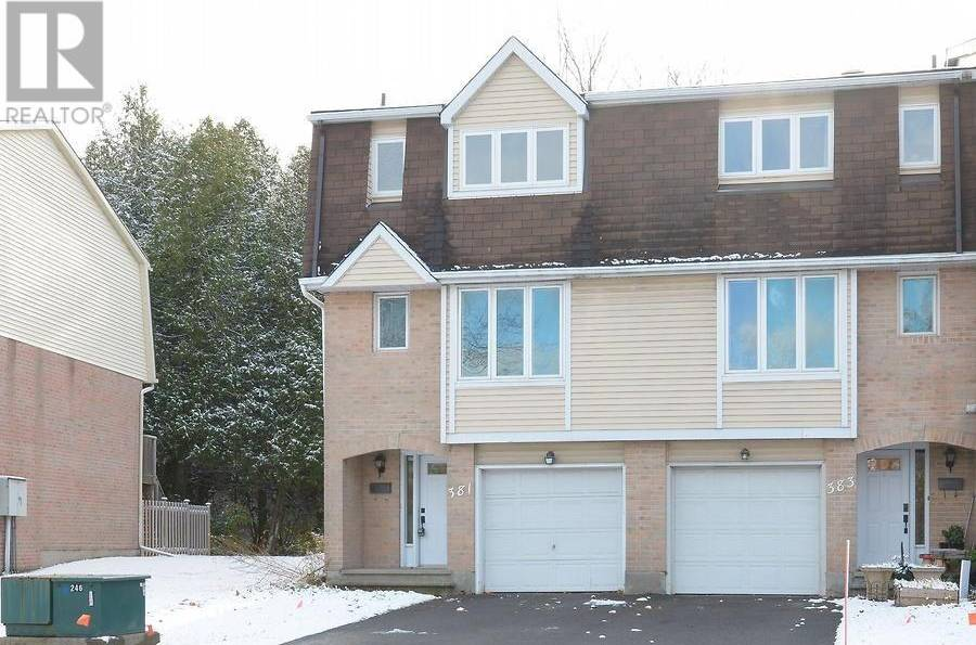 Townhouse for sale at 381 Pickford Dr Ottawa Ontario - MLS: 1174953