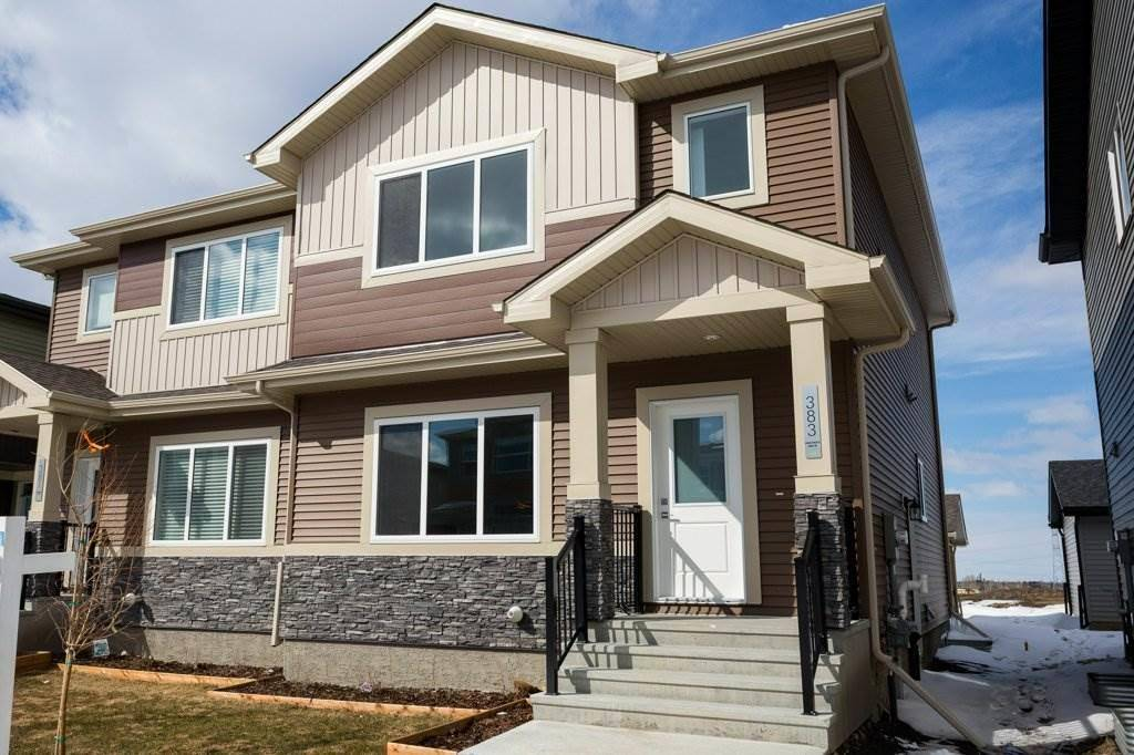 Townhouse for sale at 383 Chalesworth Dr Sw Edmonton Alberta - MLS: E4193119
