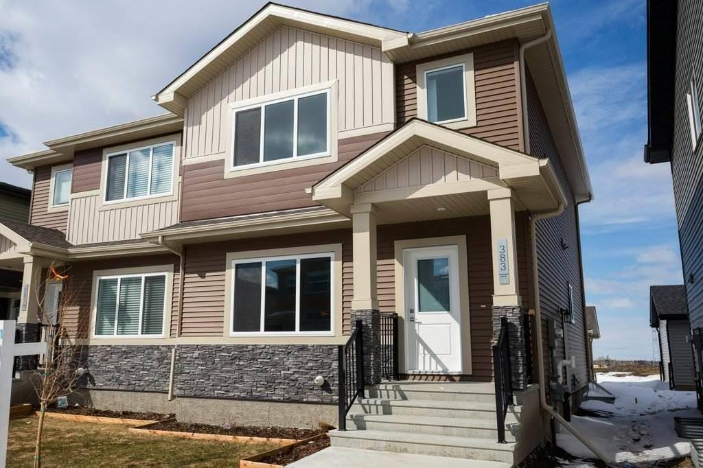 Townhouse for sale at 383 Charlesworth Dr Sw Edmonton Alberta - MLS: E4193119
