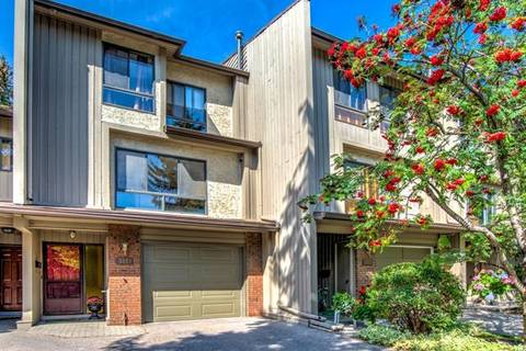 Townhouse for sale at 3851 Point Mckay Rd Northwest Calgary Alberta - MLS: C4243172