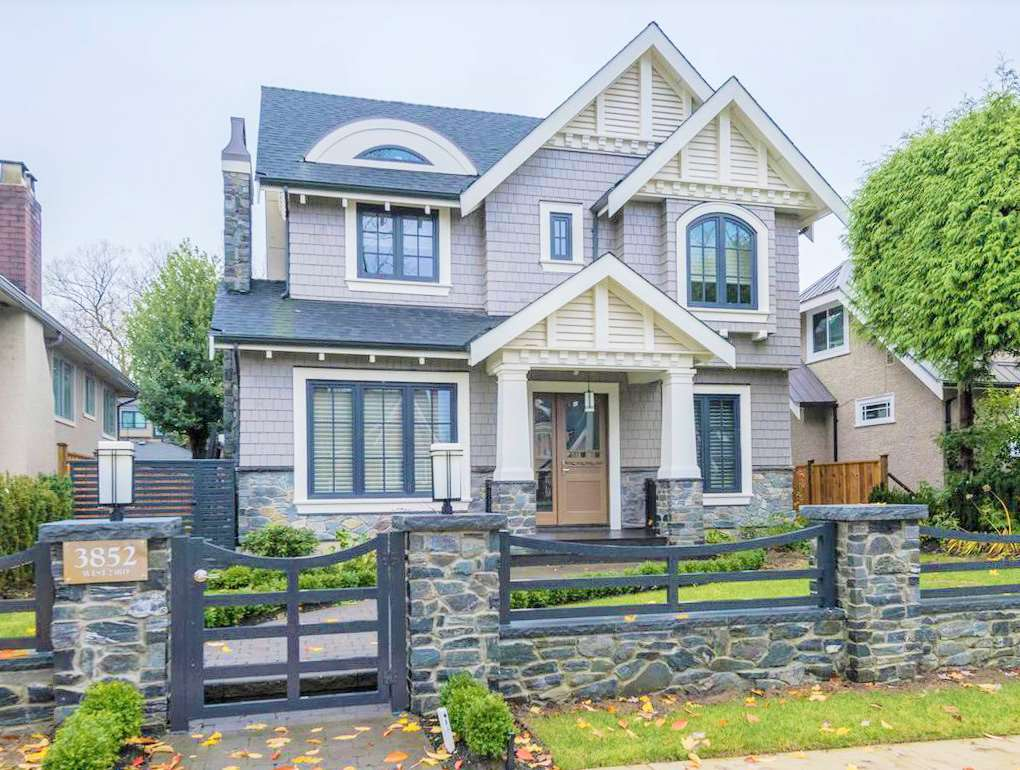For Sale: 3852 West 23rd Avenue, Vancouver, BC | 5 Bed, 6 Bath House for $6,598,000. See 2 photos!