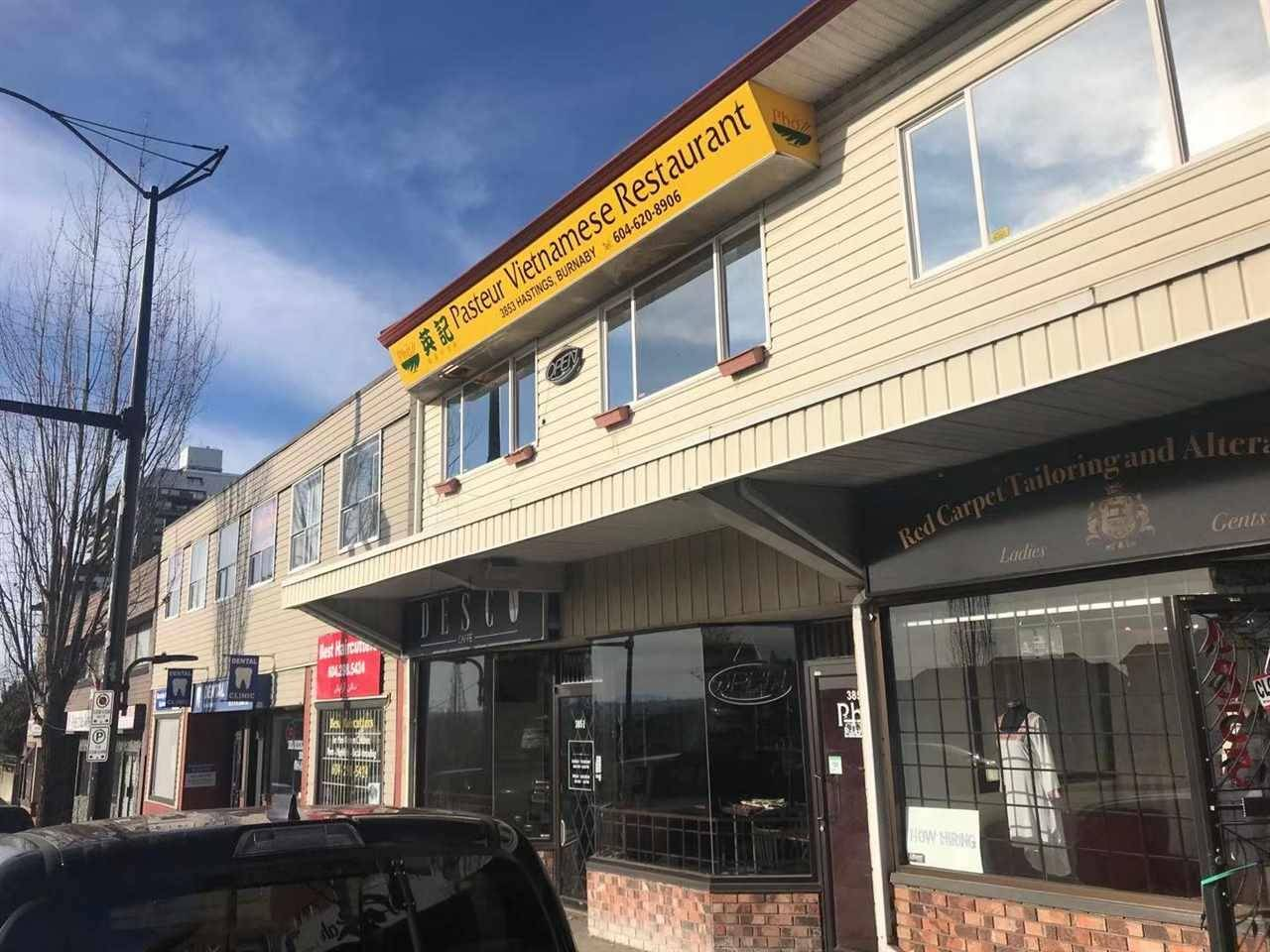 Commercial property for sale at 3853 Hastings St Burnaby British Columbia - MLS: C8029377