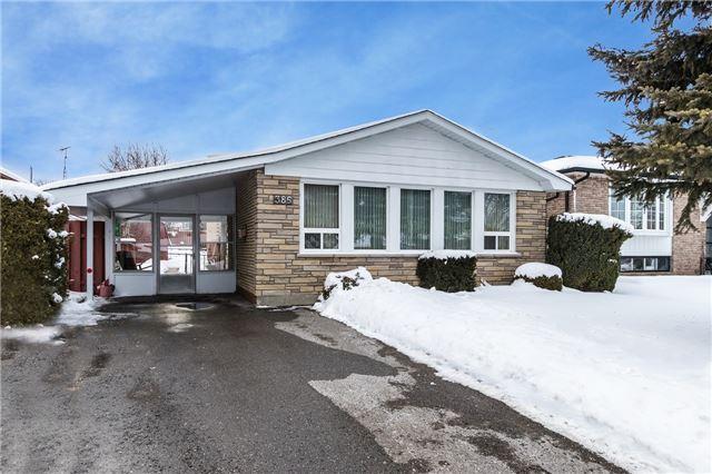 Sold: 386 Fairlawn Street, Oshawa, ON