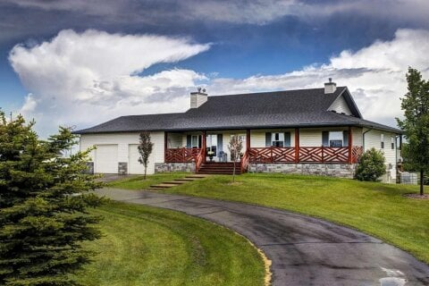 House for sale at 387020 2 St W Rural Foothills County Alberta - MLS: A1010944