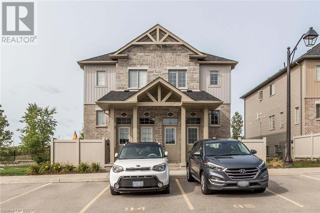 Townhouse for sale at 388 Old Huron Rd Kitchener Ontario - MLS: 40019928