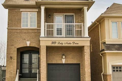 House for sale at 389 Lady Nadia Dr Vaughan Ontario - MLS: N4733957