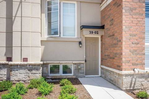 Condo for sale at 2420 Baronwood Dr Unit 39-02 Oakville Ontario - MLS: W4528874