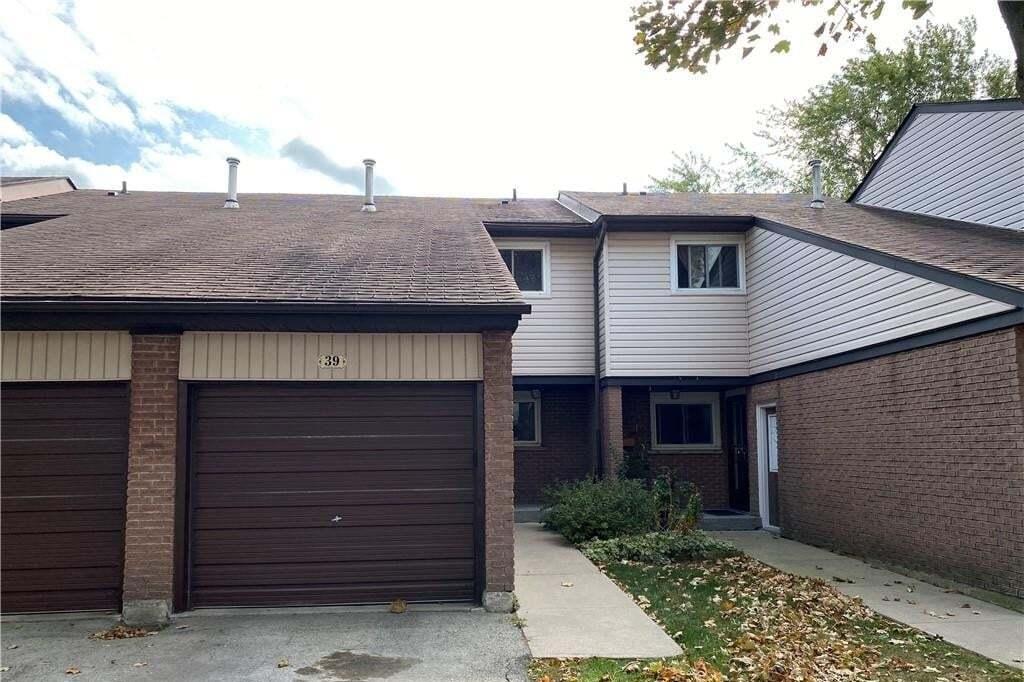 Townhouse for sale at 1190 Upper Ottawa St Unit 39 Hamilton Ontario - MLS: H4089274