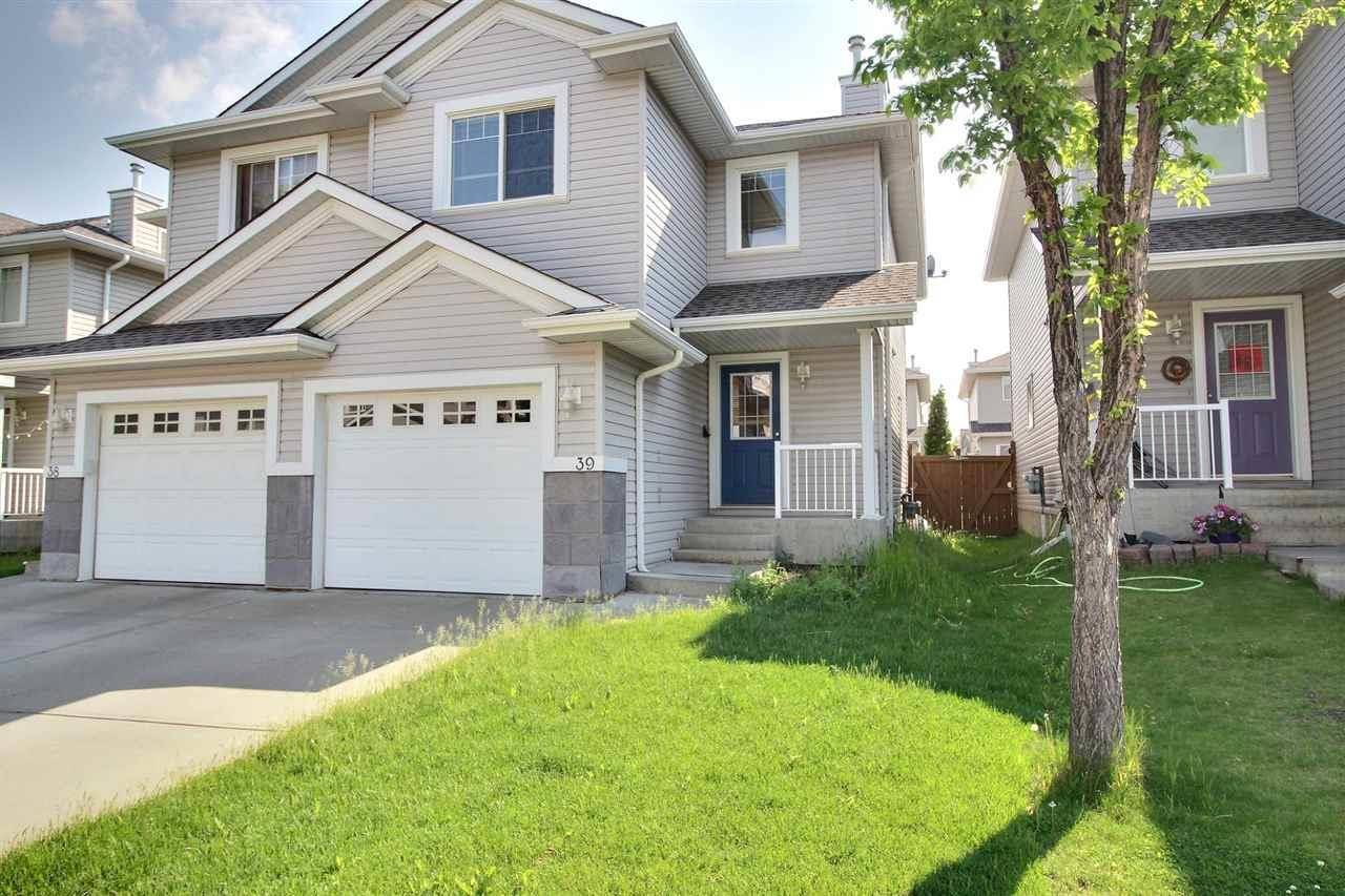 Townhouse for sale at 1428 Hodgson Wy Nw Unit 39 Edmonton Alberta - MLS: E4161835