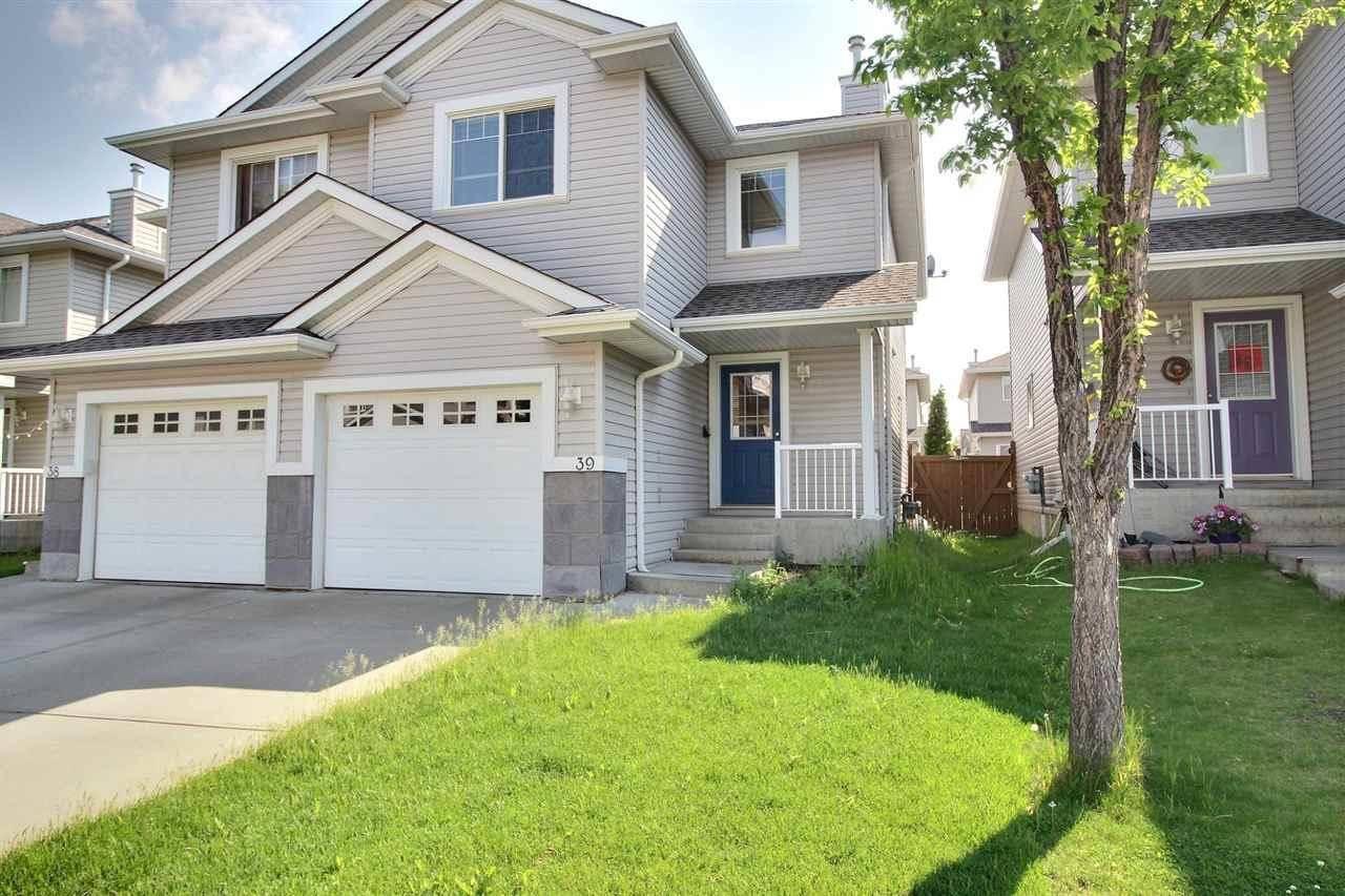 Townhouse for sale at 1428 Hodgson Wy Nw Unit 39 Edmonton Alberta - MLS: E4175494