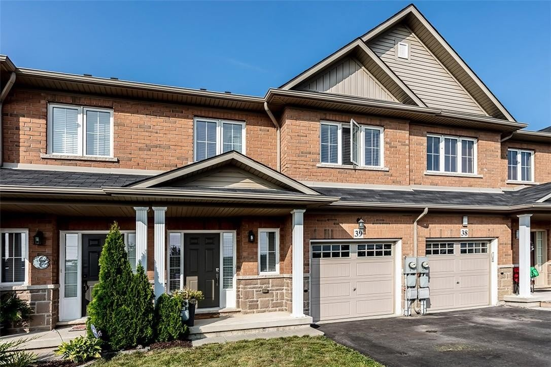 Townhouse for sale at 170 Palacebeach Tr Unit 39 Stoney Creek Ontario - MLS: H4088056