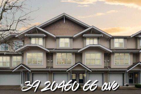 Townhouse for sale at 20460 66 Ave Unit 39 Langley British Columbia - MLS: R2520766